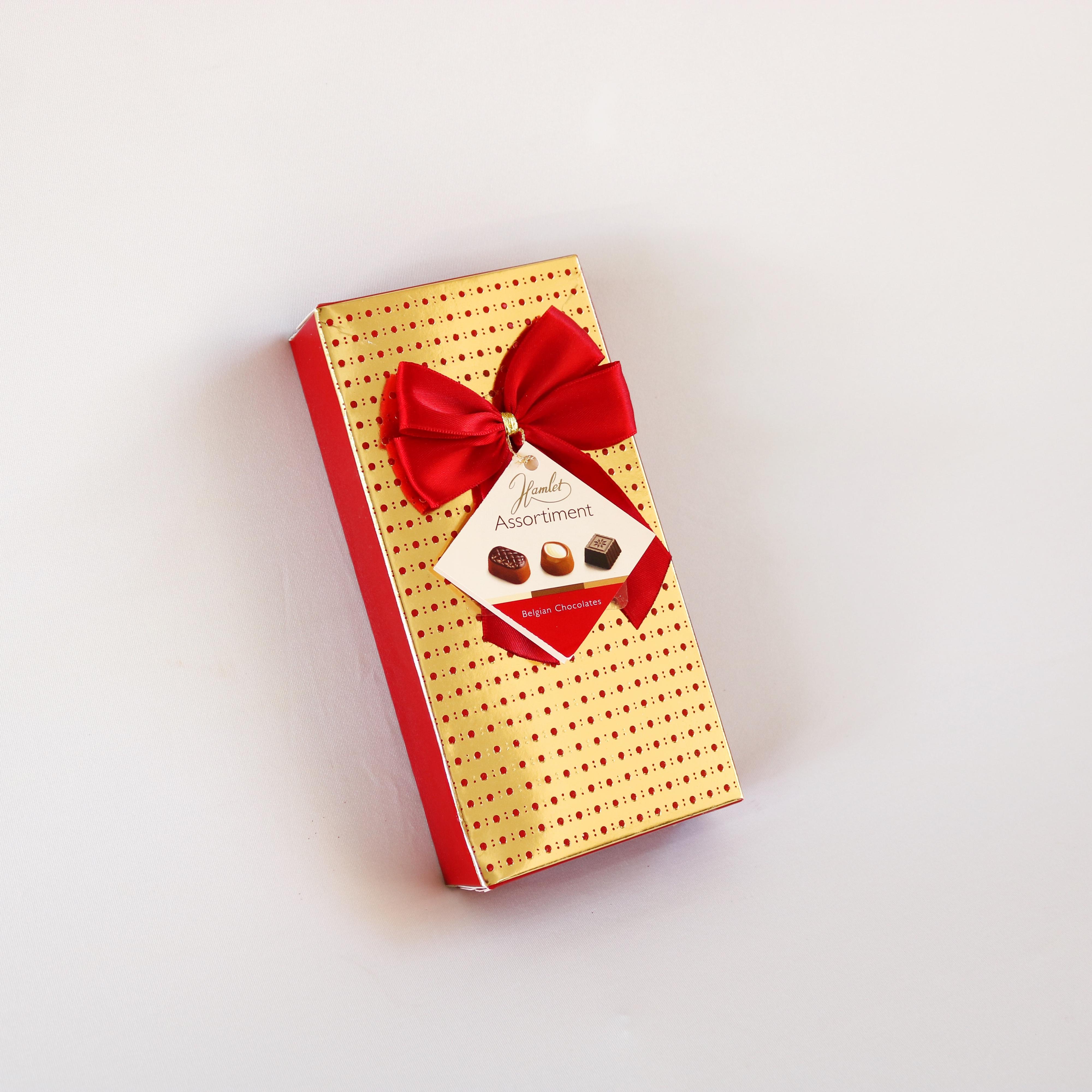 שוקולד המלט זהב אדום
