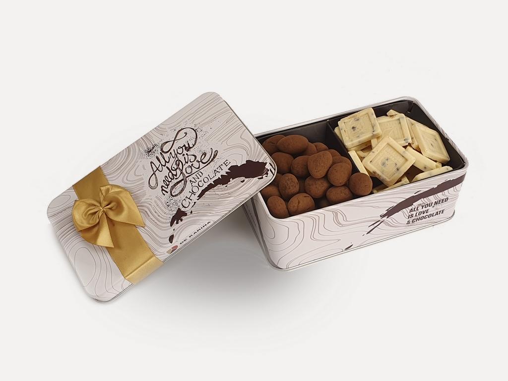 דואט שוקולד לבן 130 ג DE KARINA